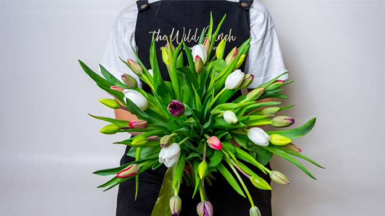 Love what's in season…. We are celebrating Tulips at The Wild Bunch