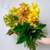 Citron Orchid Bouquet Held